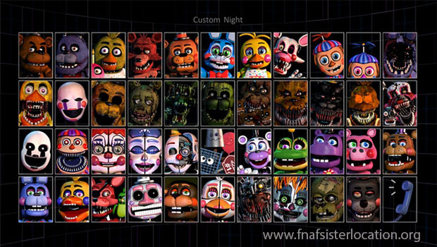 FNAF Ultimate Custom Night Free Download - UCN Game