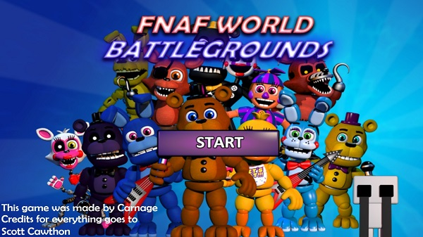 FNaF World: Battlegrounds Free Download